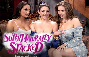 Angela White, Sofi Ryan, Lena Paul – Supernaturally Stacked: Ich träume von Lezzie (GirlsWay)